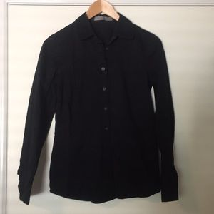 The Limited black button down shirt